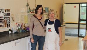 Julie Rowe and Jaynie Royal