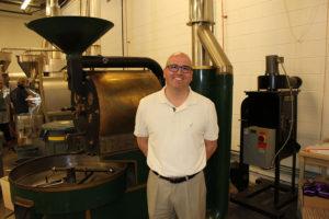 Brian Hereghty, Director of Sales at Joe Van Gogh Coffee