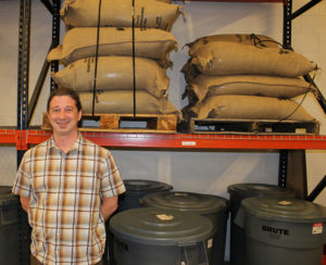 Kevin Swenk, Roastery Operations Manager